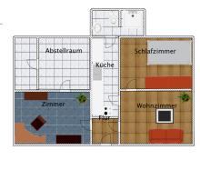 Souterrainwohnung in Braunschweig  - Gartenstadt
