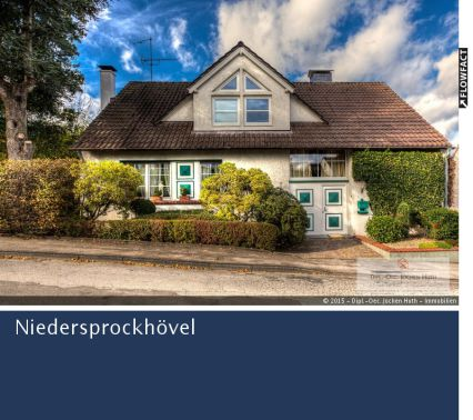 Ruhig gelegenes EFH mit reichlichem Grundstück in Niedersprockhövel