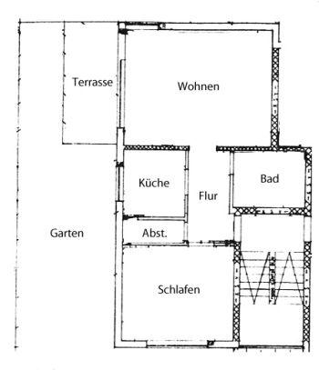 Erdgeschosswohnung in Pforzheim  - Südweststadt