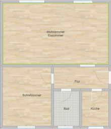 Erdgeschosswohnung in Rüsselsheim  - Bauschheim