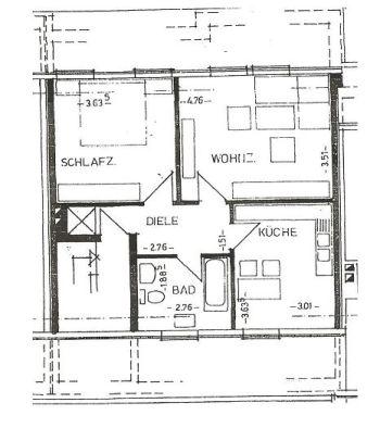 Dachgeschosswohnung in Warendorf  - Warendorf
