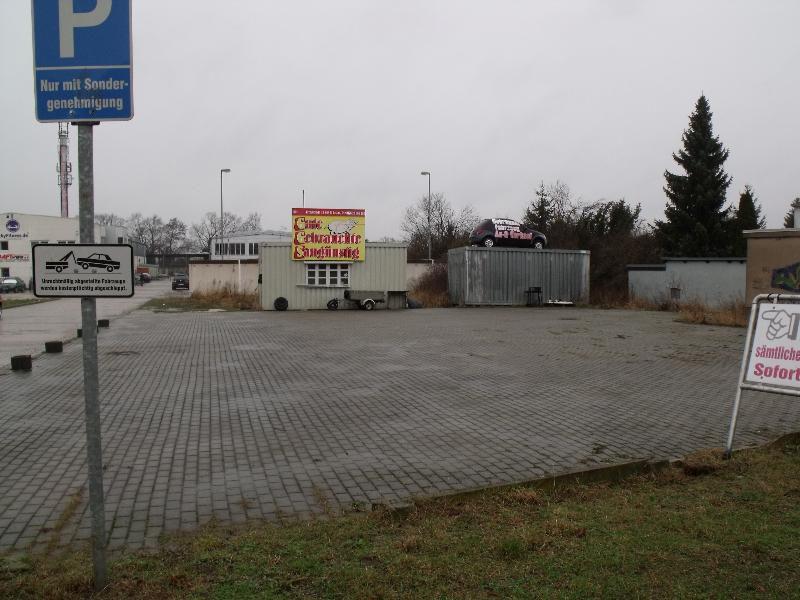 Gewerbegrundst�ck Fahrzeughandel Dessau Ro�lau - Grundst�ck mieten - Bild 1