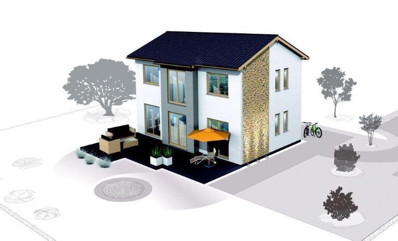 Hochwertiges Einfamilienhaus Sie individuell gestaltet - Haus mieten - Bild 1