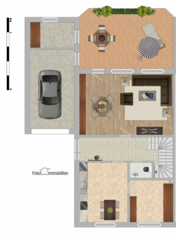 Doppelhaushälfte in Dörpen  - Dörpen