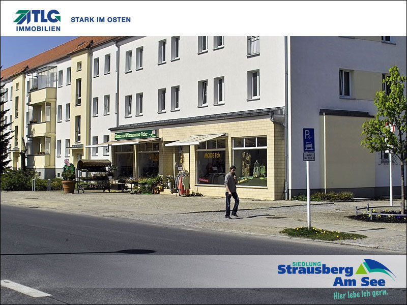 Freie Ladenfl�che Siedlung Strausberg See - Gewerbeimmobilie mieten - Bild 1