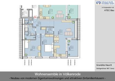 Dachgeschosswohnung in Braunschweig  - Völkenrode