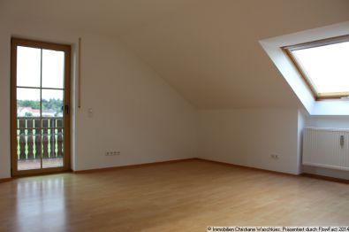 Dachgeschosswohnung in Igling  - Igling