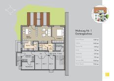 Erdgeschosswohnung in Stuttgart  - Möhringen