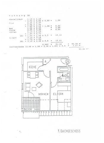 Dachgeschosswohnung in Herxheim  - Herxheim