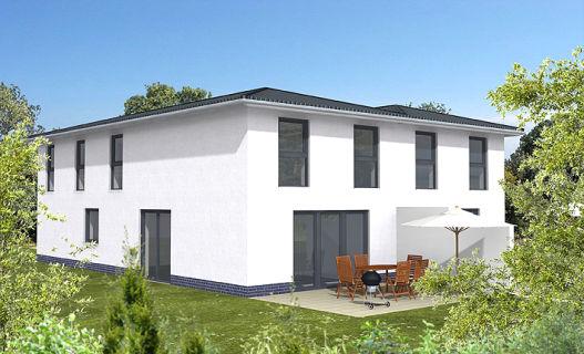 wohnen Nähe Treudelberg - Neubau einer individuell geplanten KfW-70-DHH...