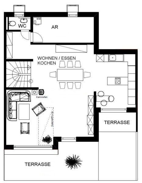 attraktive Wohnung Reinsdorf Erstbezug vermieten - Haus mieten - Bild 1
