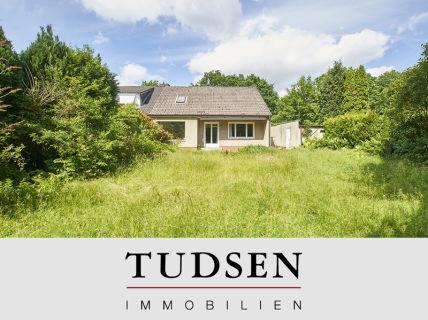 Doppelhaushälfte auf sonnigem Süd-Grundstück.