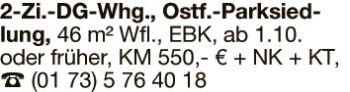 Wohnung in Ostfildern  - Kemnat