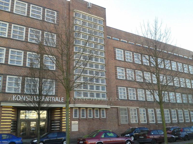 B�roeinheit Teek�che Konsumzentrale Stadtteil Plagwitz vermieten - Gewerbeimmobilie mieten - Bild 1